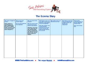 Eczema-Diary