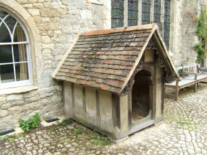 Ightham Mote Grade 1 Listed dog kennel